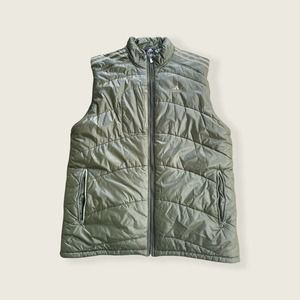 Adidas Climacool Mens Puffer Vest Green Size XLT
